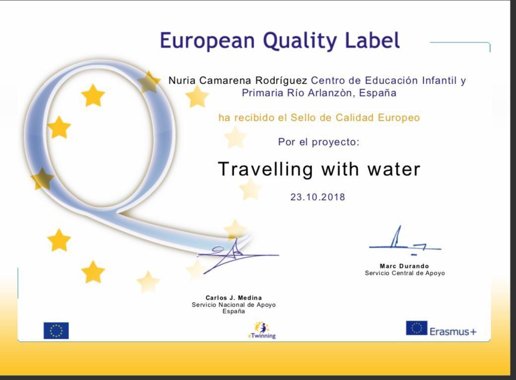 eTwinning sello de Calidad Europeo